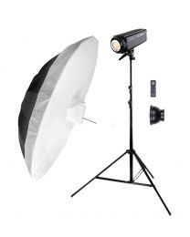 [83989] Godox Bundle | Newborn Photography Kit | Godox SL200W LED 200w +  Large Umbrella | Choose 150cm or 185cm