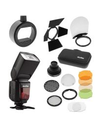 [84185] Godox Bundle: Godox TT600 Manual Flash + AK-R1 Magnetic Flash Modifier Kit + S-R1 Attachment