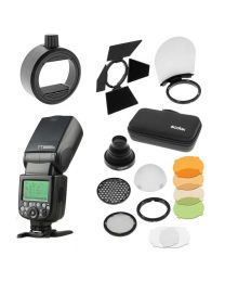 [84186] Godox Bundle: Godox TT685 TTL Flash + AK-R1 Magnetic Flash Modifier Kit + S-R1 Attachment