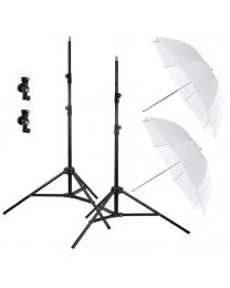 [81558] Godox Bundle | Dual Umbrella, Stand and Bracket Kit for Speedlights | Choose Your Gear