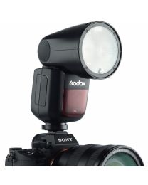 [70105] Godox V1-S TTL Li-Ion Round Head Camera Flash for Sony