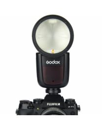 [70449] Godox V1-F TTL Li-Ion Round Head Camera Flash for Fuji