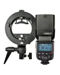 [88876] Godox Bundle: V850-II Manual Flash + Speedlight Bracket