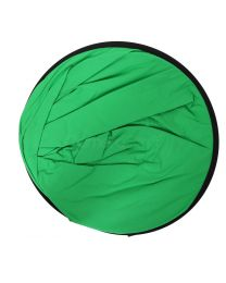 [75008] Queenie Folding Collapsible Cotton Backdrop 150x200cm Chromakey Green/Blue