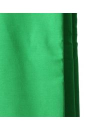 [10906] Hylow 3x6m Chroma Green Cotton / Muslin Backdrop