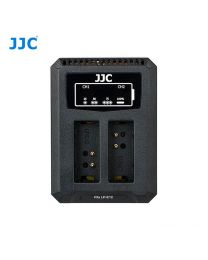 [70518] JJC  USB Dual Battery Charger fits Canon LP-E12