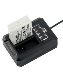 [70514] JJC USB Dual Battery Charger fits Canon LP-E8