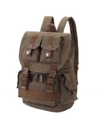 [70316] Multifunction Canvas Backpack Shoulders Bag Cameras 45x33x20cm (Army Green)