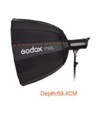 [77053] Godox Deep Parabolic Softbox  P90L | 90cm | Lightweight Version