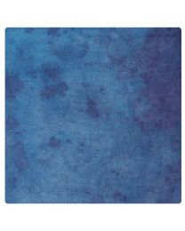 [70266] Relly Dyed Mottled Muslin Backdrop | Blue & White | 3x6m
