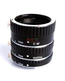 [79296] Meike Metal-Mount AF Macro Extension Tube Set for Nikon