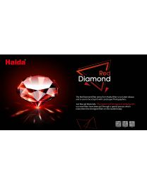 [70124] Haida Red Diamond 100-Series	|  ND1.2	|  4-Stop	|  NanoPRO Multi-Coated 	|  Insert Soft Graduated Neutral Density ND Filter	(100x150mm)