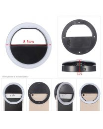 [75013]  Queenie Smartphone Clip-On Ring Light (8cm)
