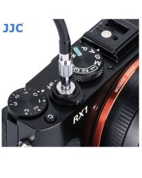 [79655] JJC Mechanical Threaded Cable Release (TCR-40BK) Black