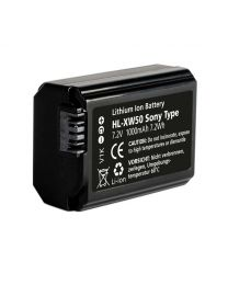 [79765] Hahnel HL-XW50 Sony 7.2V 950mAh Battery