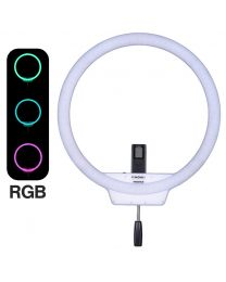 [87521] Yongnuo YN608 50cm RGB Ring Light + AC Power Supply
