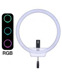 [88369] Ring Light + Stand Bundle: Yongnuo RGB YN608 LED + Light Stand