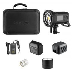 [88547] Godox Bundle: Godox AD400 PRO 400w/s Kit + Godox AC400 AC Power Adapter