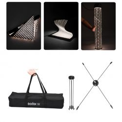 [84324] Godox Bundle | FL60 Flexible LED Light | 30x45cm + Softbox & Grid