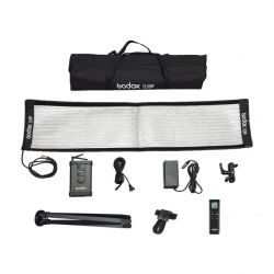 [84325] Godox Bundle |  FL150R Flexible LED Light| 30x120cm + Softbox & Grid