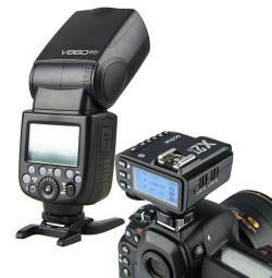 [80123] Godox Bundle: Godox V860-II TTL Li-Ion Speedlight + Godox X2-T 2.4GHz Flash Trigger