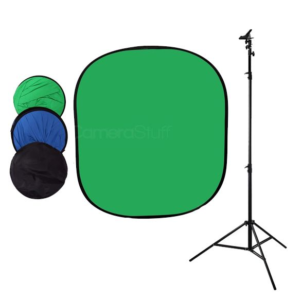 CameraStuff | [87414] Collapsible 150x200cm Chromakey Green