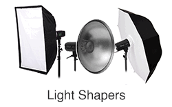 Light Shapers Softbox light umbrella light beauty dish